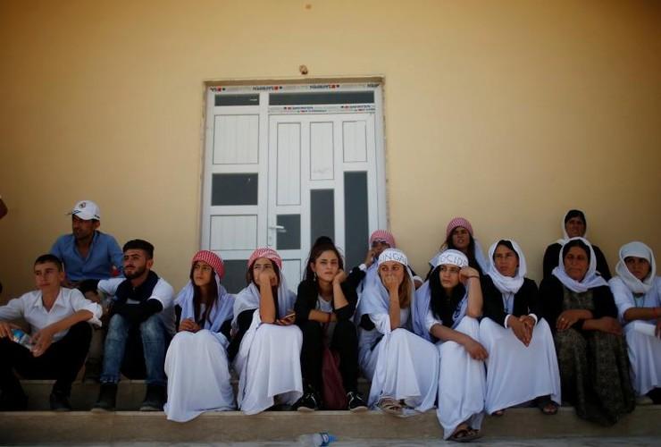 Nguoi Yazidi o Iraq sau cuoc tham sat cua phien quan IS-Hinh-4