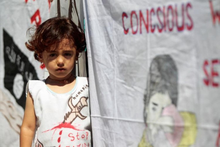 Nguoi Yazidi o Iraq sau cuoc tham sat cua phien quan IS-Hinh-5