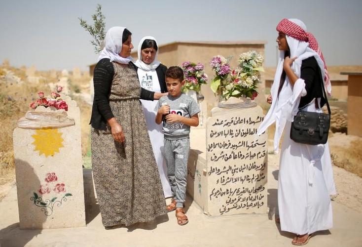 Nguoi Yazidi o Iraq sau cuoc tham sat cua phien quan IS-Hinh-6