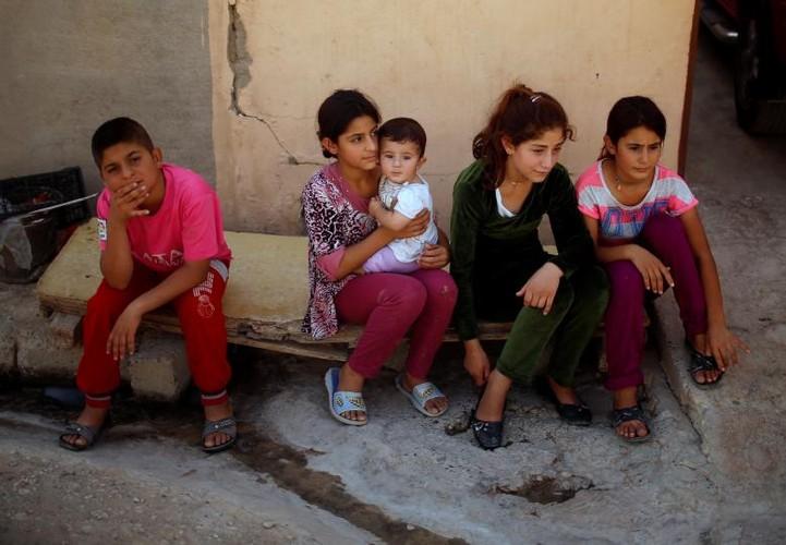 Nguoi Yazidi o Iraq sau cuoc tham sat cua phien quan IS-Hinh-9