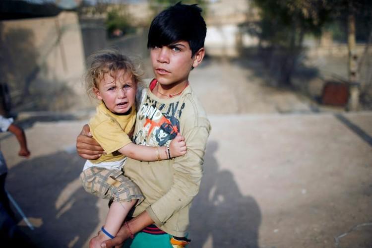 Nguoi Yazidi o Iraq sau cuoc tham sat cua phien quan IS