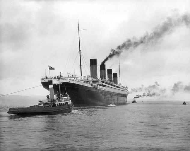 Anh hiem ve tau Titanic truoc khi bi chim-Hinh-4