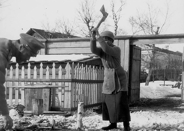 Anh hiem ve Sa hoang Nikolai II bi luu day o Siberia-Hinh-11