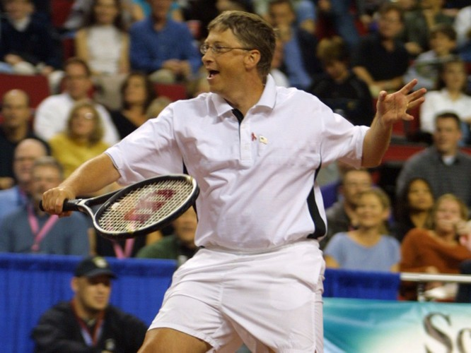 Thoi quen cua Bill Gates: An burger va rua bat moi toi-Hinh-4