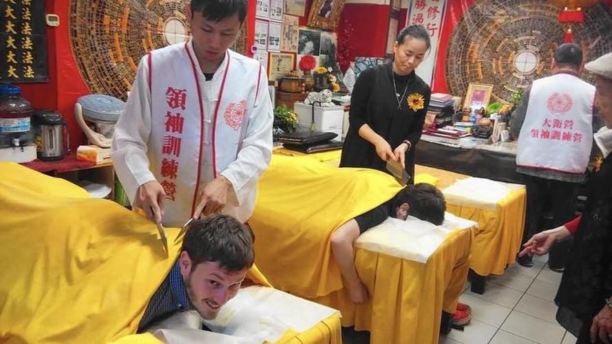 Noi da ga massage thu gian bang dao phay