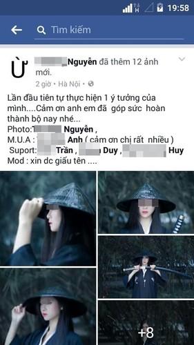 "Chan dung nu kiem hiep ""lac troi"" tren duong pho Viet-Hinh-4"