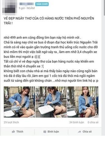 """Su that bat ngo ve """"hot girl ban tra da"""" o Ha Noi"""