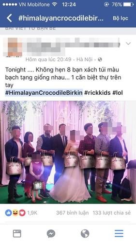 """Bo suu tap """"chat"""" khong kem tui Hermes cua Ngoc Trinh"""