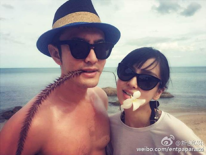 Huynh Hieu Minh dua vo bau Angelababy di nghi duong-Hinh-5
