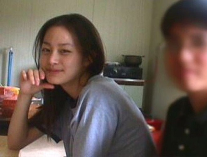Ngam Kim Tae Hee xinh dep thuo hoc sinh-Hinh-3