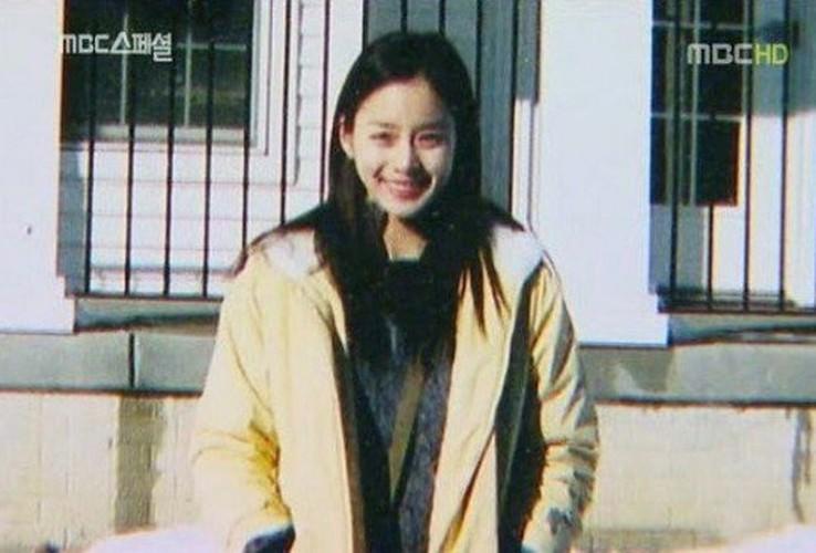Ngam Kim Tae Hee xinh dep thuo hoc sinh-Hinh-5