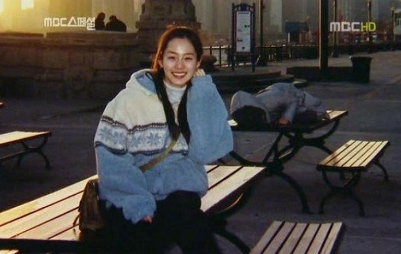 Ngam Kim Tae Hee xinh dep thuo hoc sinh-Hinh-7
