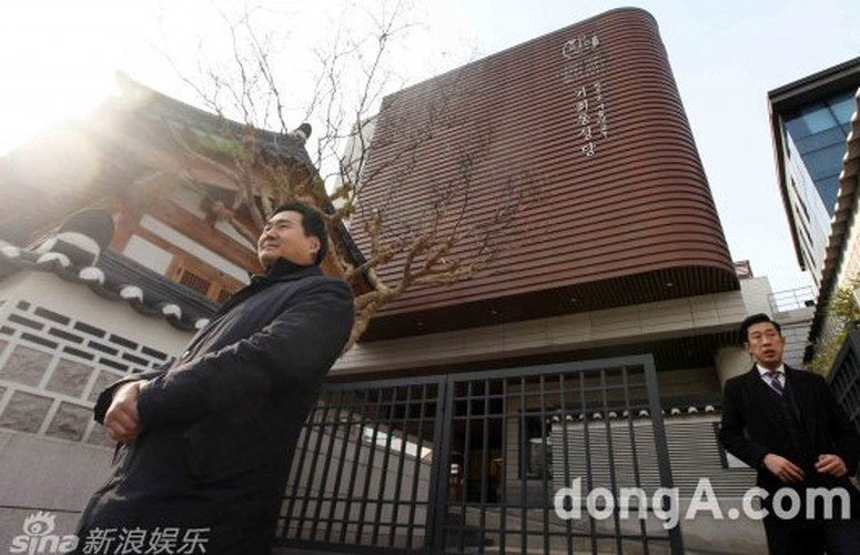 Loat anh hiem hoi trong dam cuoi Bi Rain va Kim Tae Hee-Hinh-7