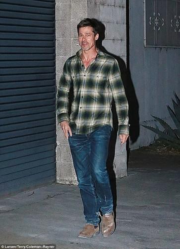 Brad Pitt pho phac, buon ba lam mau tren tap chi-Hinh-6