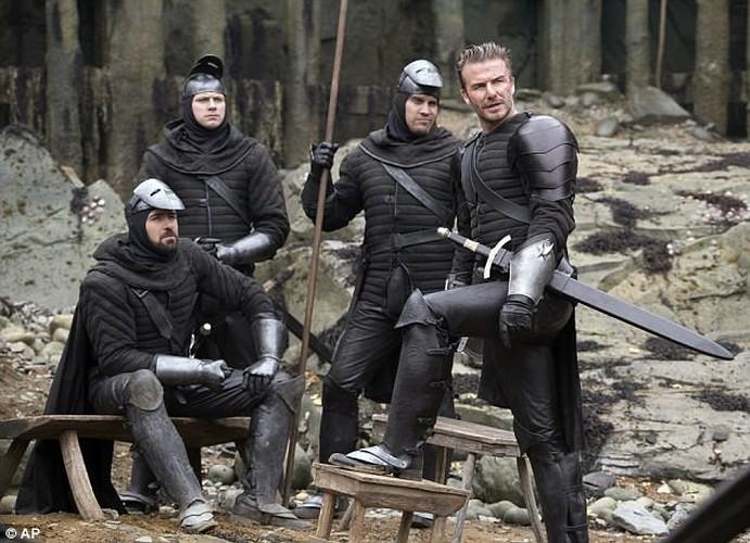 David Beckham bi nem da vi vai dien dau tien trong King Arthur