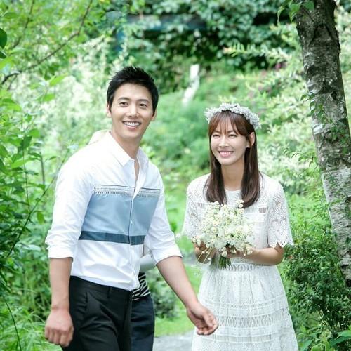 Anh hanh phuc cua Lee Sang Woo - Kim So Yeon truoc ngay cuoi-Hinh-2