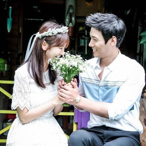 Anh hanh phuc cua Lee Sang Woo - Kim So Yeon truoc ngay cuoi-Hinh-4