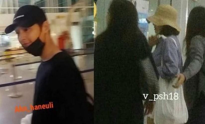 Nhung lan Song Joong Ki va Song Hye Kyo bi dinh tin don hen ho