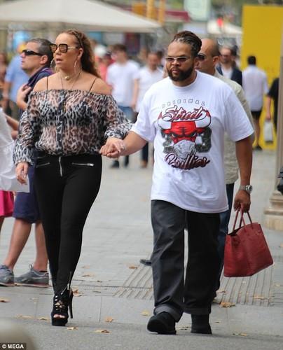 Mariah Carey lo ve beo u, xau xi