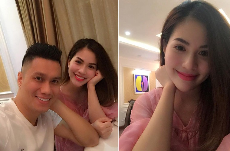 Vo chong dien vien Viet Anh lien tuc khoe anh tinh cam-Hinh-2