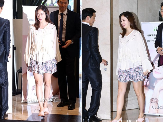 Doan hinh hai con dau long cua Kim Tae Hee va Bi Rain-Hinh-7
