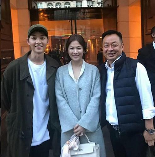 Song Hye Kyo bi nghi van da mang thai truoc dam cuoi