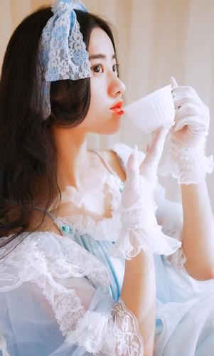 Hot girl xu Trung xinh dep nhu bup be-Hinh-5