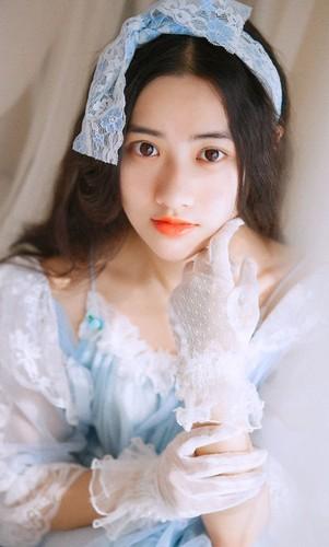 Hot girl xu Trung xinh dep nhu bup be