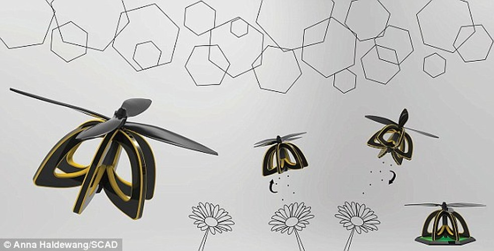 Kinh ngac nhung con ong robot co the thu phan cho hoa-Hinh-2