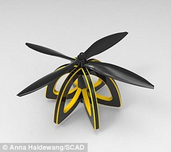 Kinh ngac nhung con ong robot co the thu phan cho hoa-Hinh-3