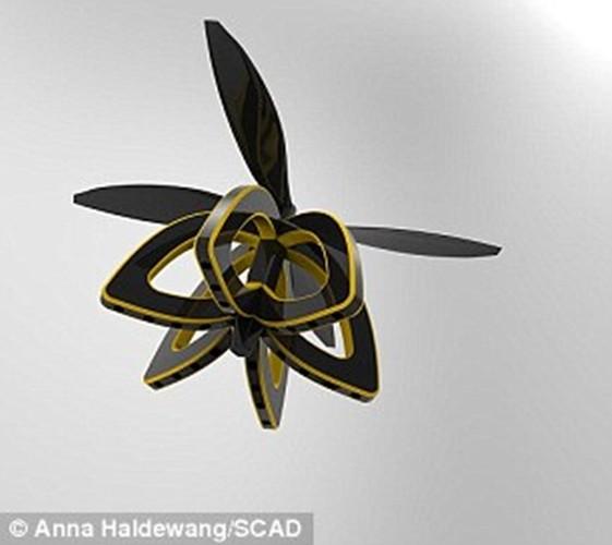 Kinh ngac nhung con ong robot co the thu phan cho hoa-Hinh-4
