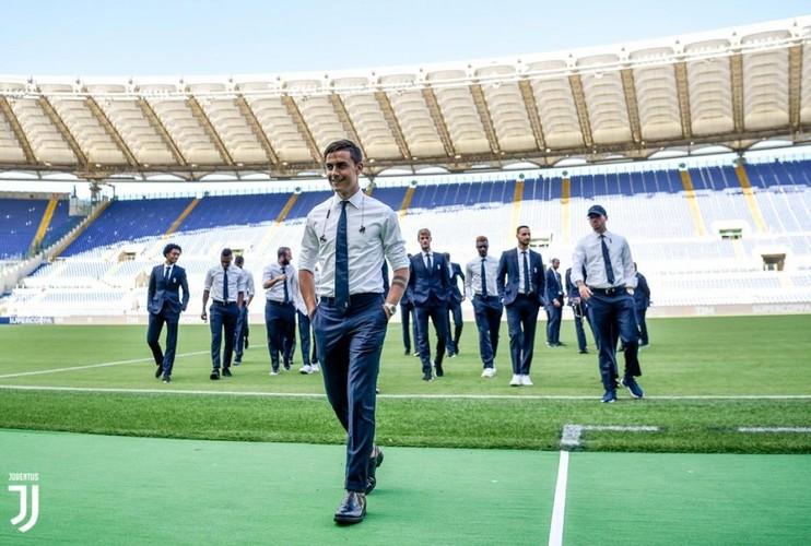 """Cac """"nam than"""" Juventus day lich lam xuat hien tren san Olimpico-Hinh-8"""