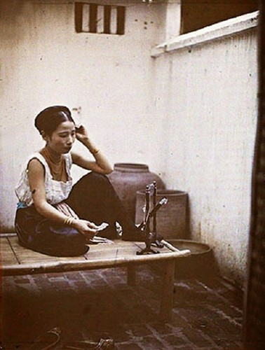 Goc anh dac biet phu nu Viet Nam nhung nam 1910-Hinh-9