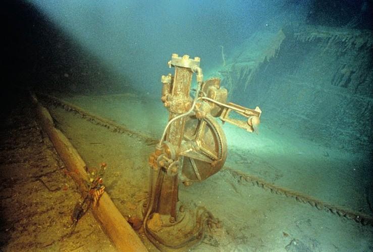 Loat anh lan dau tien phat hien tau dam Titanic nam 1985-Hinh-5