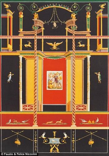 Tranh ve thanh pho Pompeii truoc khi bi nui lua chon vui-Hinh-5