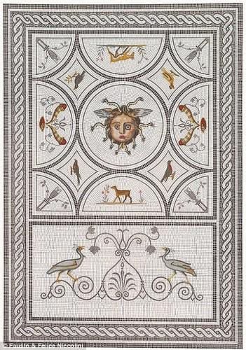 Tranh ve thanh pho Pompeii truoc khi bi nui lua chon vui-Hinh-6