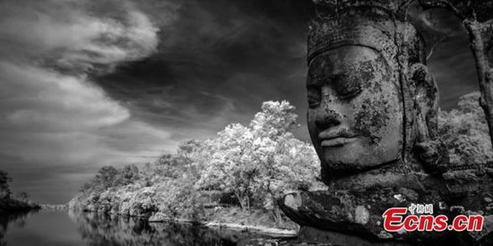 Ngat ngay ve dep cua nhung ngoi den o Angkor