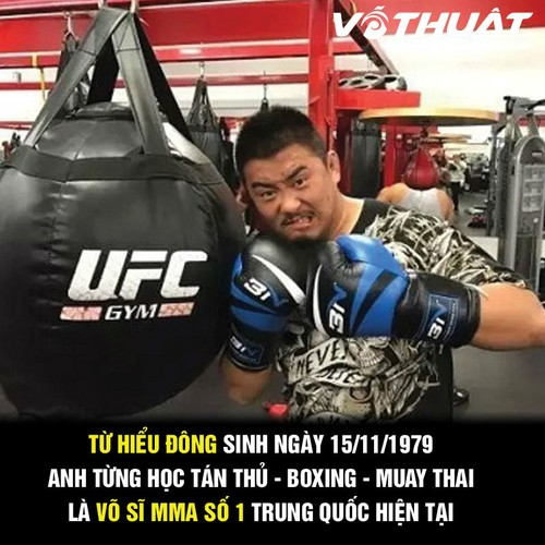 "Chan dung ""vo si MMA"" danh bai su phu Thai Cuc Quyen"