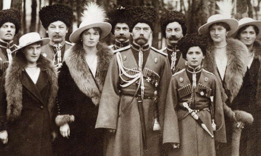 Anh hiem hoang toc Romanov truoc khi diet vong