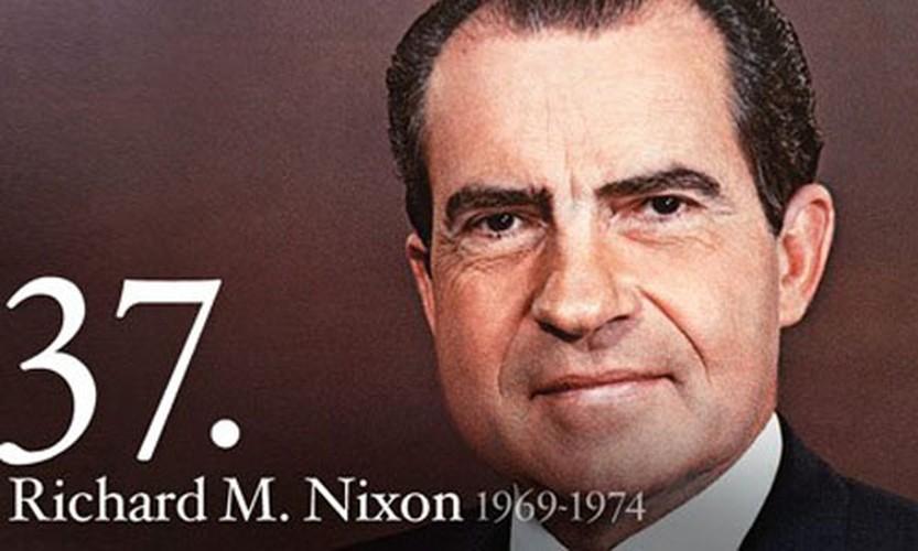 Tiet lo su that it biet ve Tong thong My Richard Nixon