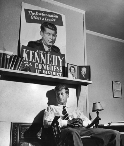 Nhung hinh anh hiem ve co Tong thong My John F. Kennedy-Hinh-3