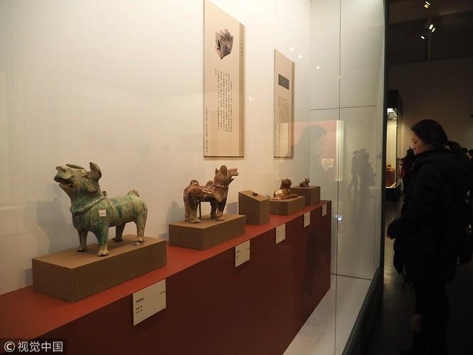 Chiêm ngưỡng cổ vật độc lạ chủ đề chó tại Bảo tàng Trung Quốc