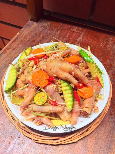 Chan ga cay tron xoai: mon ngon vua an van thom them-Hinh-3