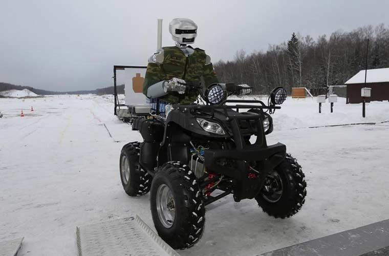 Dien mao robot chien dau Avatar cua Nga