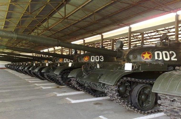 """Kham pha """"hai anh em"""" cua xe tang T-62 Viet Nam"""