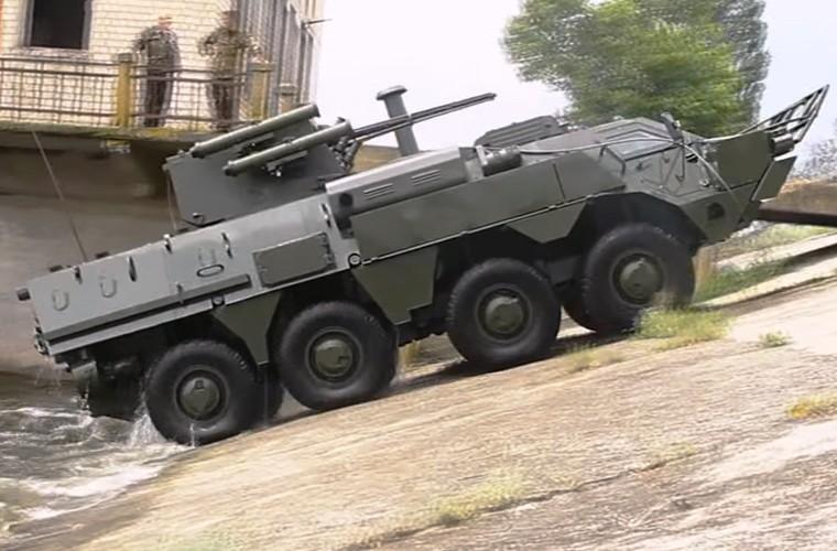 """BTR-4E/M Ukraine se """"lam co"""" BTR-82A Nga neu doi dau?-Hinh-10"""