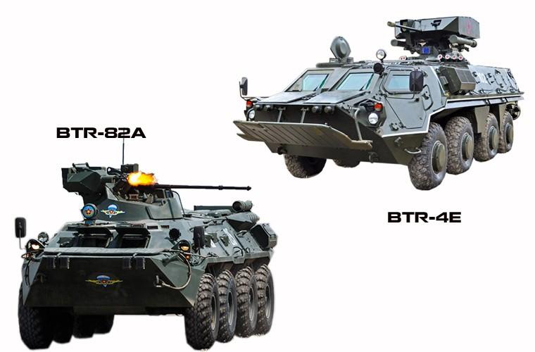 """BTR-4E/M Ukraine se """"lam co"""" BTR-82A Nga neu doi dau?-Hinh-11"""