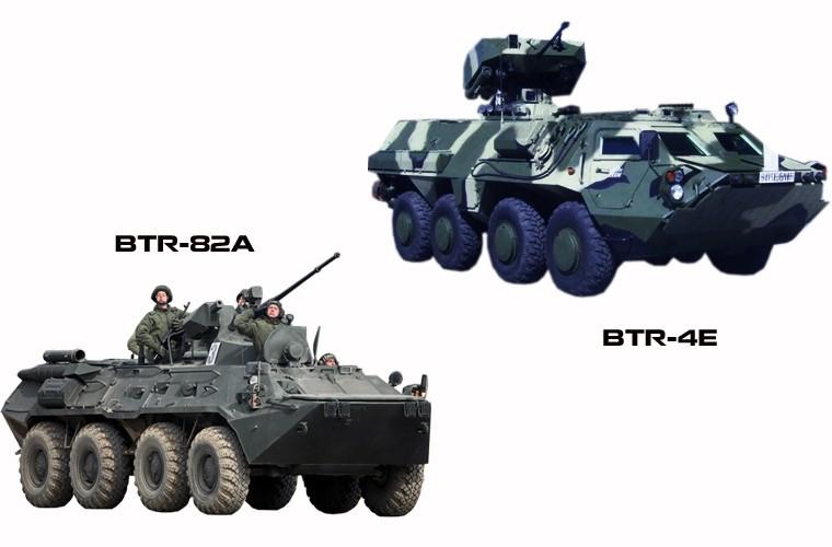 """BTR-4E/M Ukraine se """"lam co"""" BTR-82A Nga neu doi dau?-Hinh-13"""
