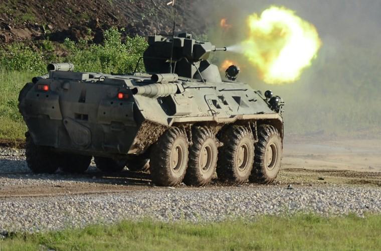 """BTR-4E/M Ukraine se """"lam co"""" BTR-82A Nga neu doi dau?-Hinh-2"""