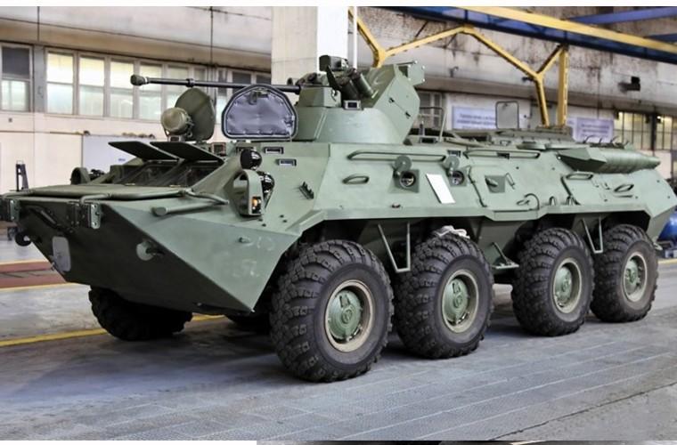"""BTR-4E/M Ukraine se """"lam co"""" BTR-82A Nga neu doi dau?-Hinh-3"""